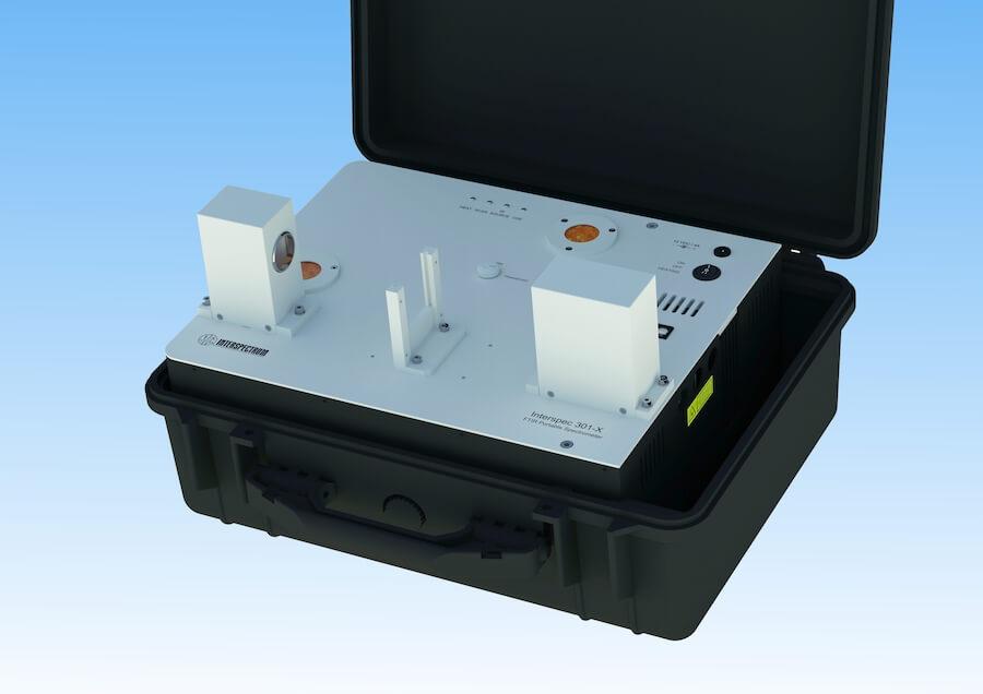 Portable FTIR/FTNIR spectrometer Interspec 301-X with open optical path