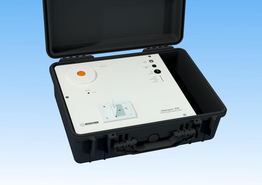 Portable FTIR spectrometer Interspec 308