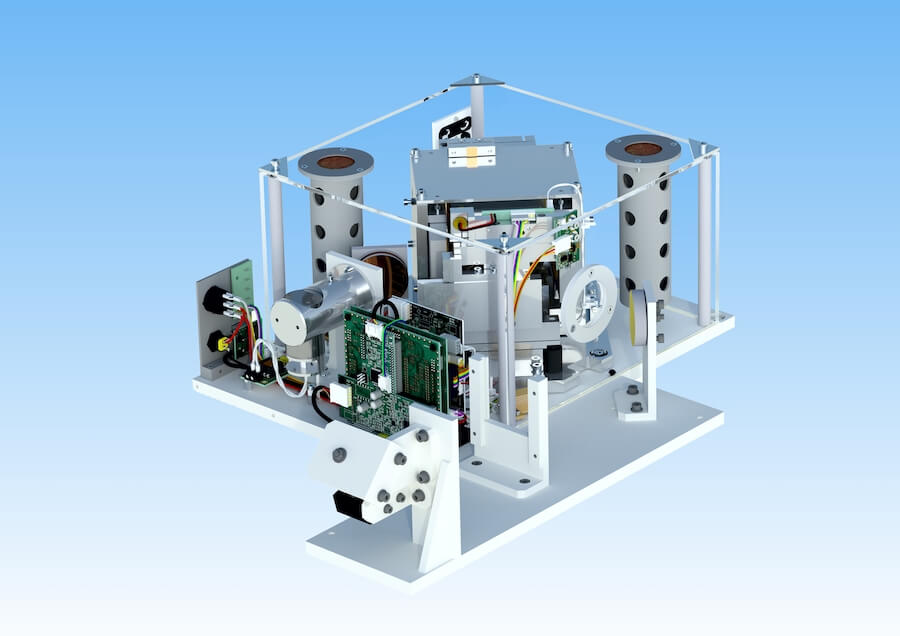Educational FTIR/FTNIR modular spectrometer Interspec 403-X