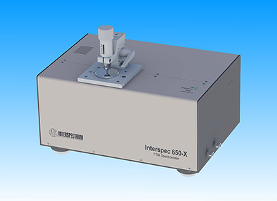 Compact FTIR spectrometer Interspec 650-X