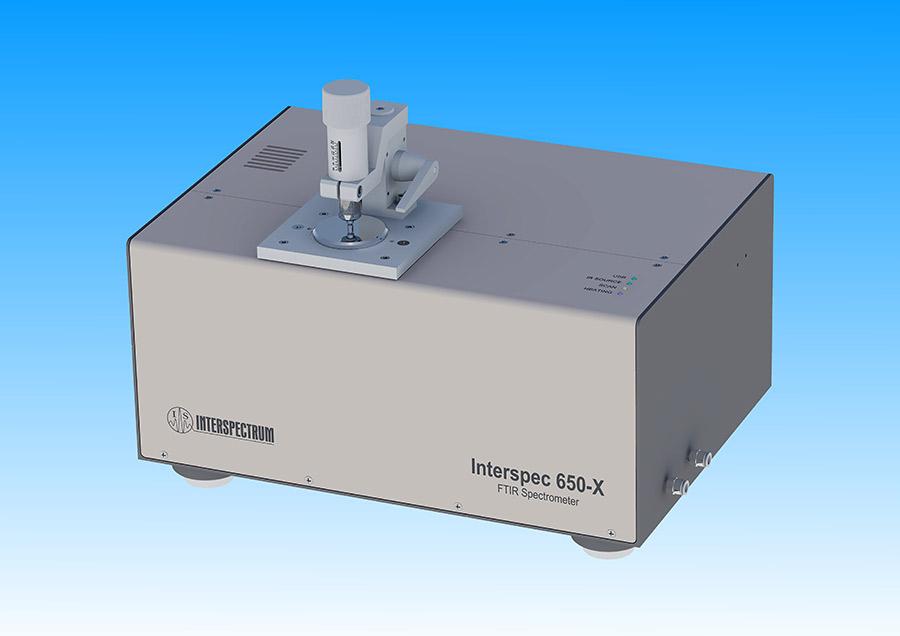 Compact FTIR spectrometer Interspec 650-X